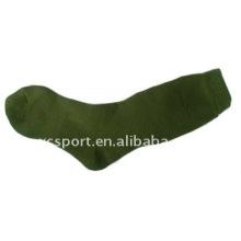 Coton tricot doux longs hommes chaussettes de l'armée