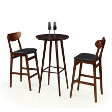 Solid Wood Bar Tables and Stools (FOH-BCA69)