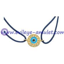 Navy Blue Evil Eye Braided  Bracelet  Wholesale