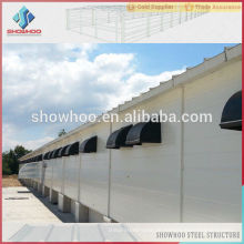 automatische Ausrüstung Kontrolle System Stahl Struktur Huhn Bauernhof Geflügel Gebäude