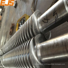 65/132 конические двухшнековые для обработки ПВХ экструдера
