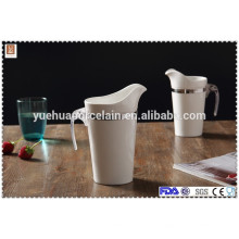 Керамический большой размер молоко фарфоровый молочный фляга с пластиковой ручкой