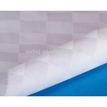 Wholesale cheap white cotton check design fabric