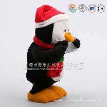 Wholesales Cheap animated electronic plush talking penguin toys