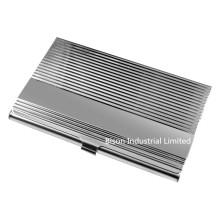 Tipo de onda titular do cartão de visita de aço inoxidável (BS-S-018B)