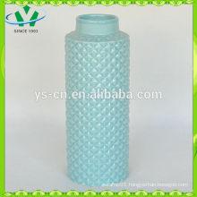 2015 modern new style turquoise ceramic vase chaozhou