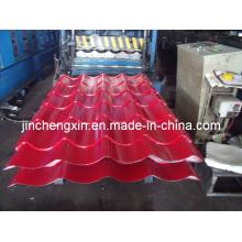Stufenziegel-Dachblech-Formmaschine