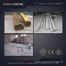 7м 9м 11м наружного освещения труба q345 s355 стальные полюса