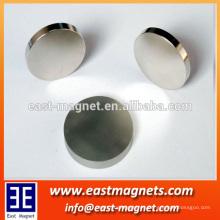 N52 25 mm neo Tipo y NdFeB Magnet Compuesto n52 25 mm ndfeb disco imán