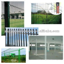 PVC coated Welded Wire Mesh fence Security panel