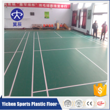 Indoor plastic floor badminton floor