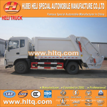 DONGFENG 4x2 10cbm compressed garbage truck 170hp hot sale for export