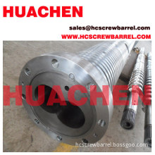 Extruder Parallel Screw Barrel Of Plastic Extruder Machines For Pvc