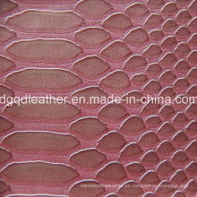 Diseño de moda de cuero de PVC (QDL-51406)
