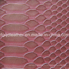 Дизайн моды кожа PVC (qdl по-51406)