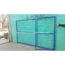 Paneles de cerramiento temporales de construcción de Canadá de venta caliente