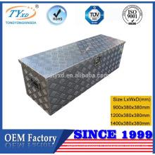 boîtes à outils de stockage de camion en aluminium personnalisé