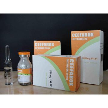 Hot New Products for Aminoglycoside Antibiotics Ceftriaxone Sodium for Injection BP 500MG export to Tonga Manufacturer