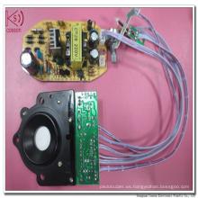25mm 1.7MHz Atomizador piezoeléctrico para las piezas del nebulizador del ultrasonido