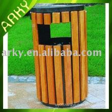 High Quality Wooden Garbage Bin