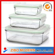 Glasschloss-Container