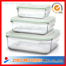 Glass Lock Container