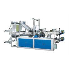 Automatic single line T shirt bag making machine