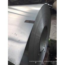 Bobina de aço inoxidável 201 com acabamento 2b / superfície