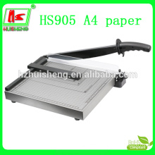 High quality office manual paper cutter for cutting paper, circle paper cutter