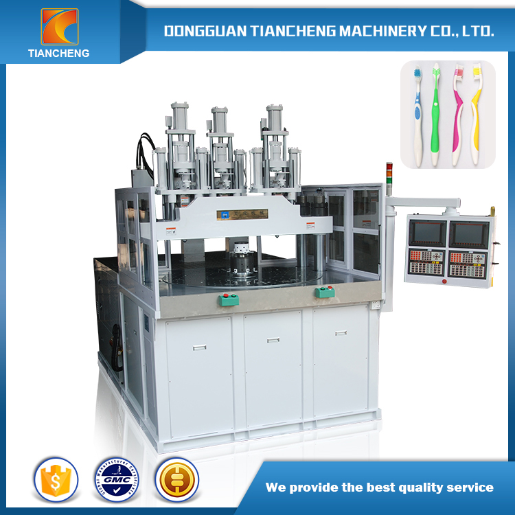 three color toothbrush making machine