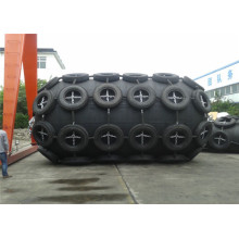 Guardabarros de goma de alta presión para protección terminal de muelle