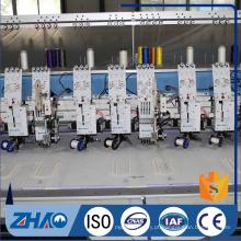 8 cabeças flat + dispositivo de derivação dobro máquina de bordar preço barato