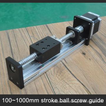 Baixo custo 40 kg de carga de alumínio trilho de guia do obturador do rolo para cnc