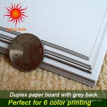 Weiß gestrichenes Duplex Board Papier