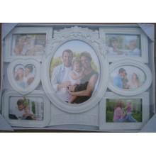 Family White Collage Photo Frame