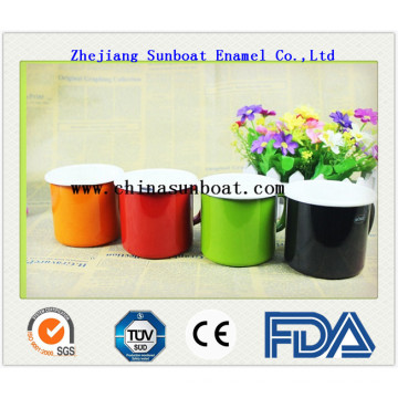 Enamel Customized Milk Mug