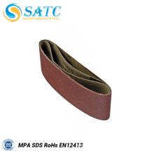 SATC-Hot vente A / O bande abrasive souple et flexible pour le métal et l'acier inoxydable