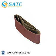 SATC-Hot sale A/O soft &flexible abrasive belt for metal&stainless