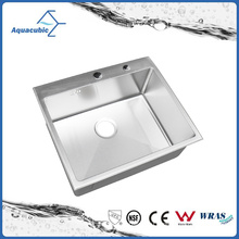 Искусственные нержавеющей стали маленькая раковина (ACS6050R)