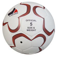 Оптовая ПУ кожаный изготовленный на заказ Soccaer мяч Размер 5