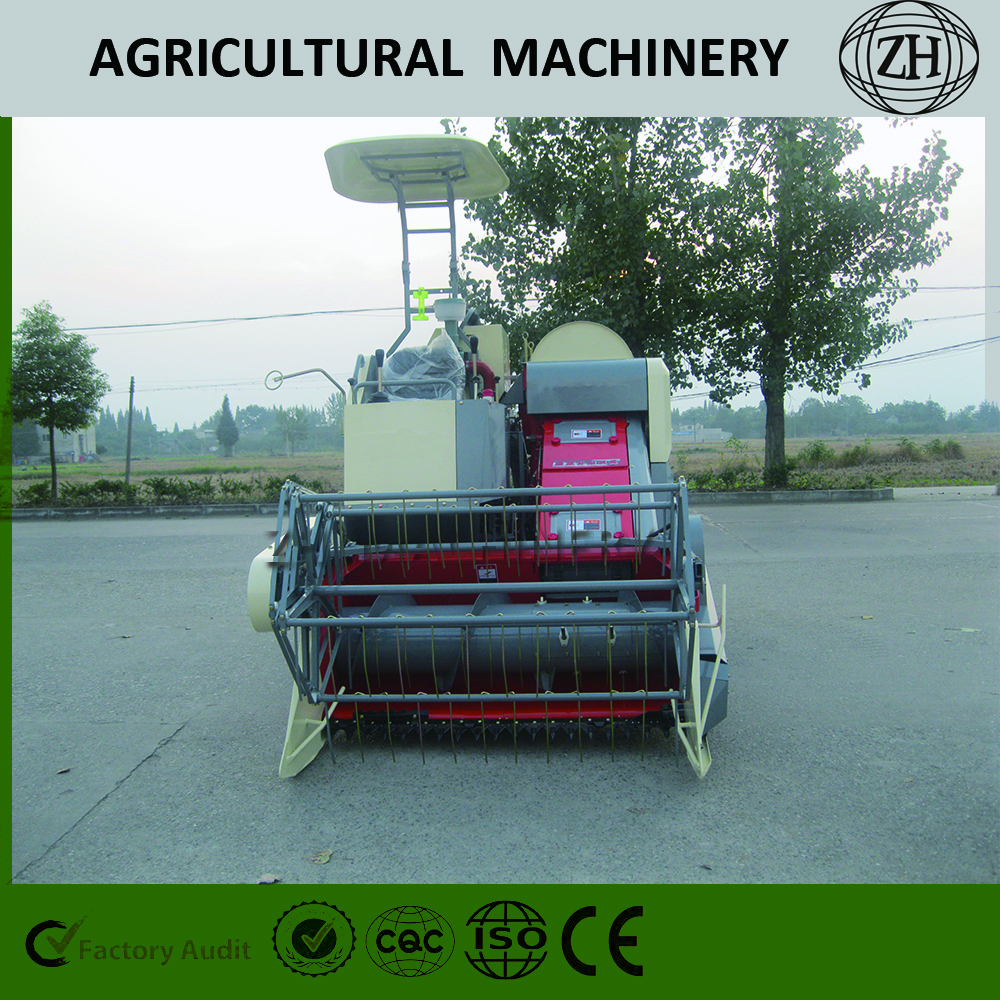 Agri Machinery Mini Combine Soybean Harvester