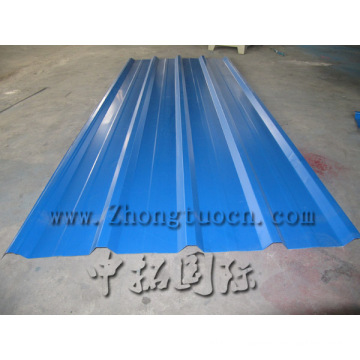 color steel wave roofing sheets forming machine