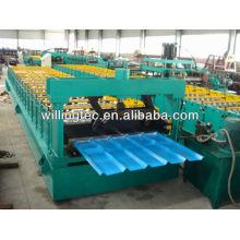 Gute Qualitäts-heiße Verkaufsfarbblechdach-Plattenwalze, die Maschine bildet