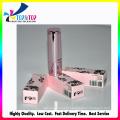 Cmyk impressão dobrável cosméticos caixa / caixa de papel batom / lábio brilhante caixa