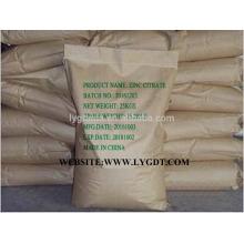 Fabricant Zinc Citrate CAS No.546-46-3, qualité supérieure