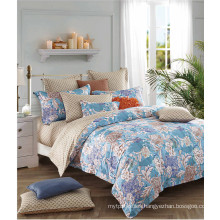 100% Cotton Bedspread with Bedskirt and Fitted Sheet