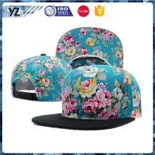 Hochwertige coutom Snapback Caps Hut mit machen in China Cap Fabrik