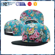 high quality coutom Snapback caps hat with make in China cap factory