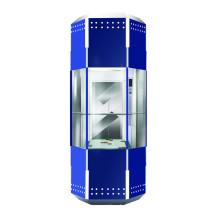 1000kg Rhombus observação da cabine de elevador sem sala de máquinas (XNGT-002)