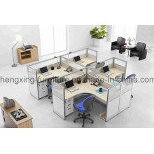 Melamine 4 Seats Workstation Office Partition (HX-PT5022)